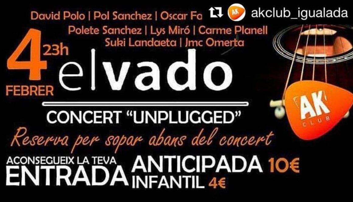 Suki invitada a cantar con El Vado en Igualada - barcelona