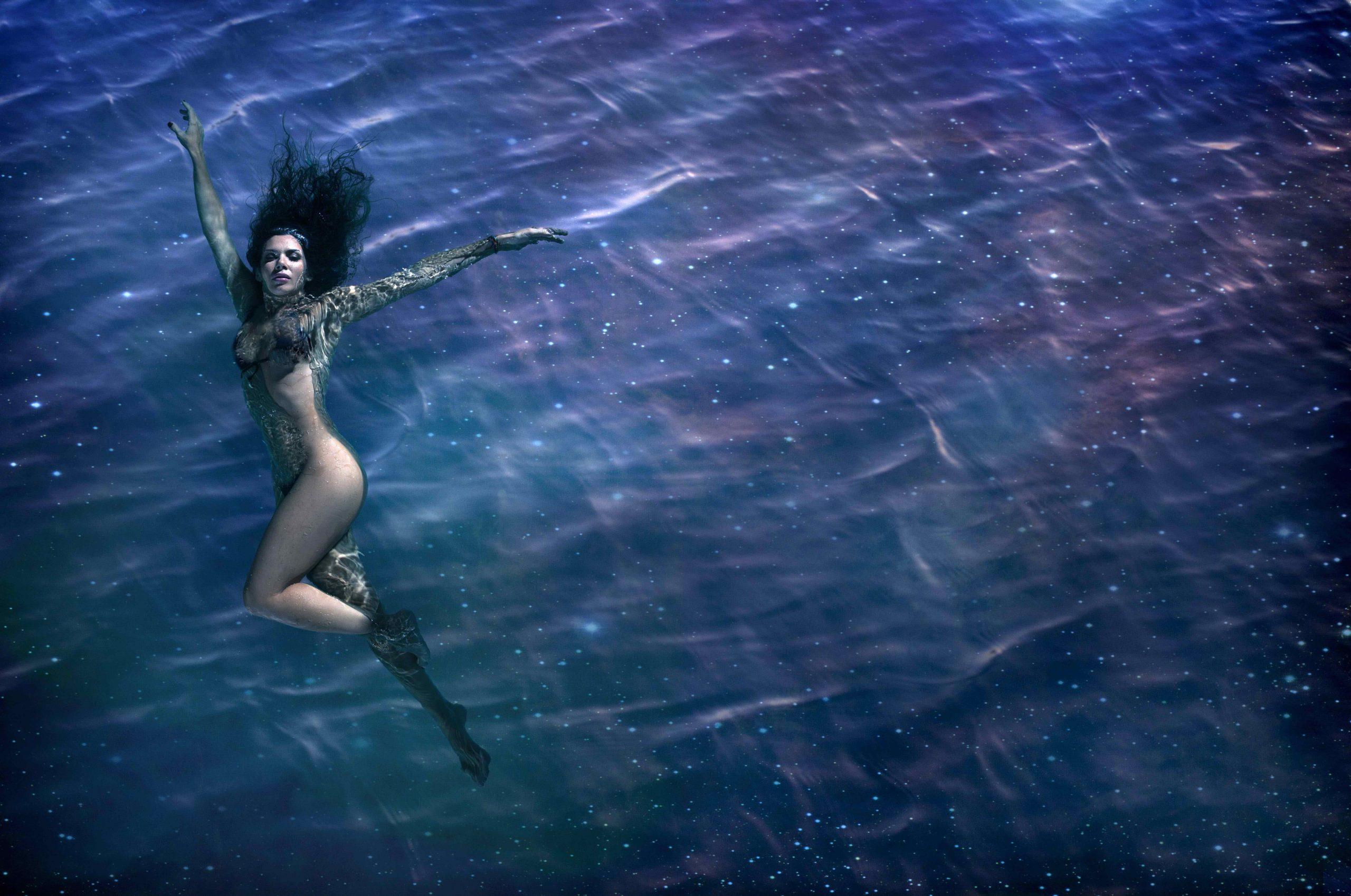 """Parte de la sesión fotográfica para el disco """"Oceánica y Cósmica"""" por Nicolas Serrano"""